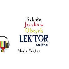 """SJO """"Lektor"""" online Marta Wojtas"""